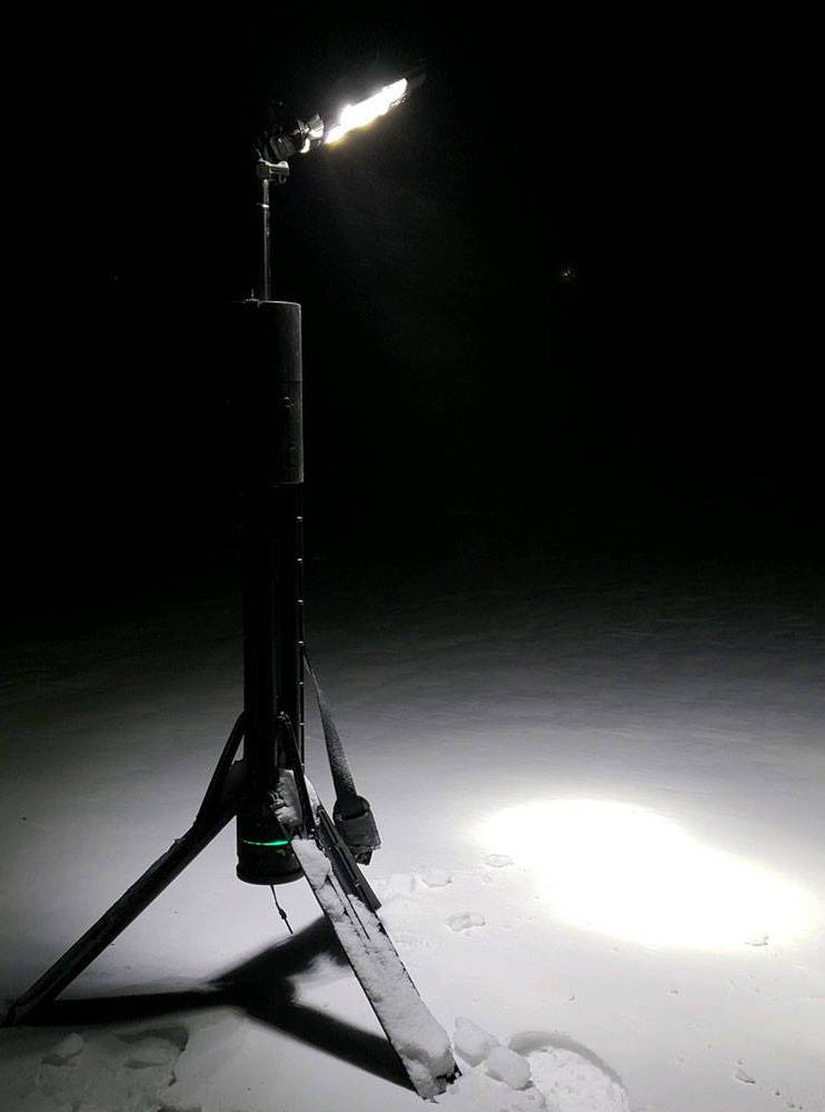 Nomad 360 in -13 degrees F in Iowa.
