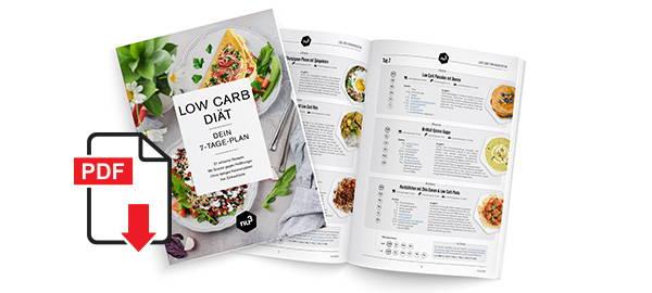 Kostenloses PDF zur Low Carb Diät