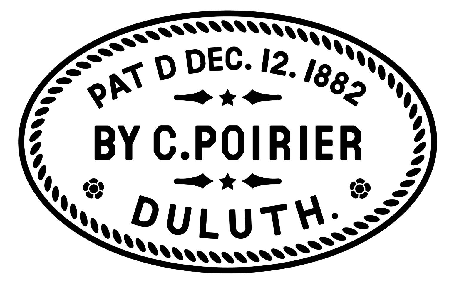 duluth pack patented 1882 by c poirier duluth minnesota