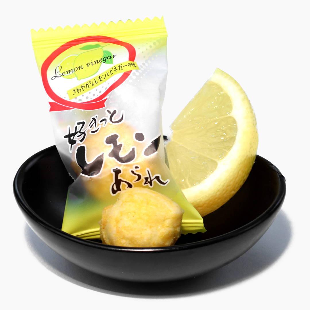 Arare Rice Cracker: Lemon and Vinegar
