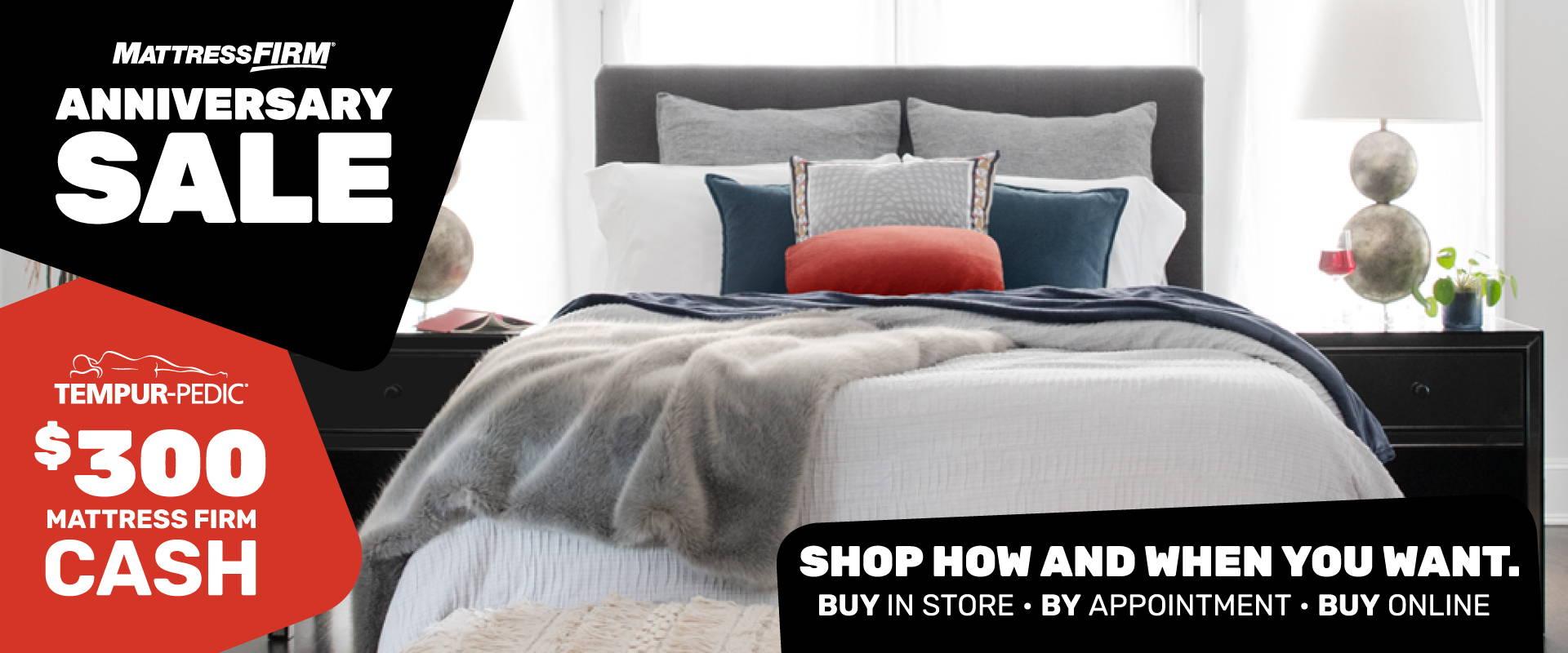 Mattress Firm Anniversary Sale Montana