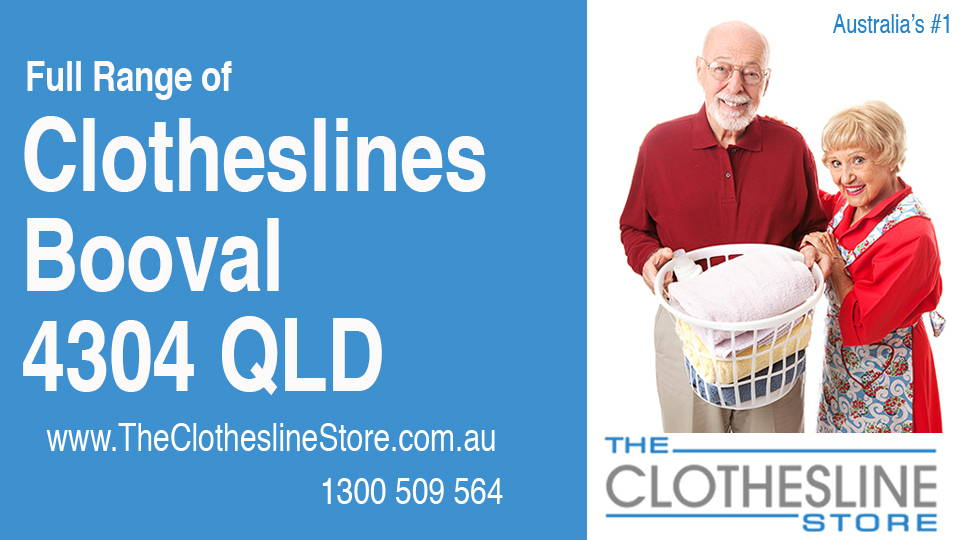 New Clotheslines in Booval Queensland 4304