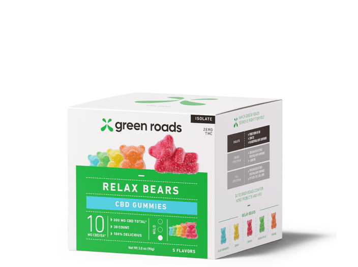 Relax Bears <br> CBD Gummies