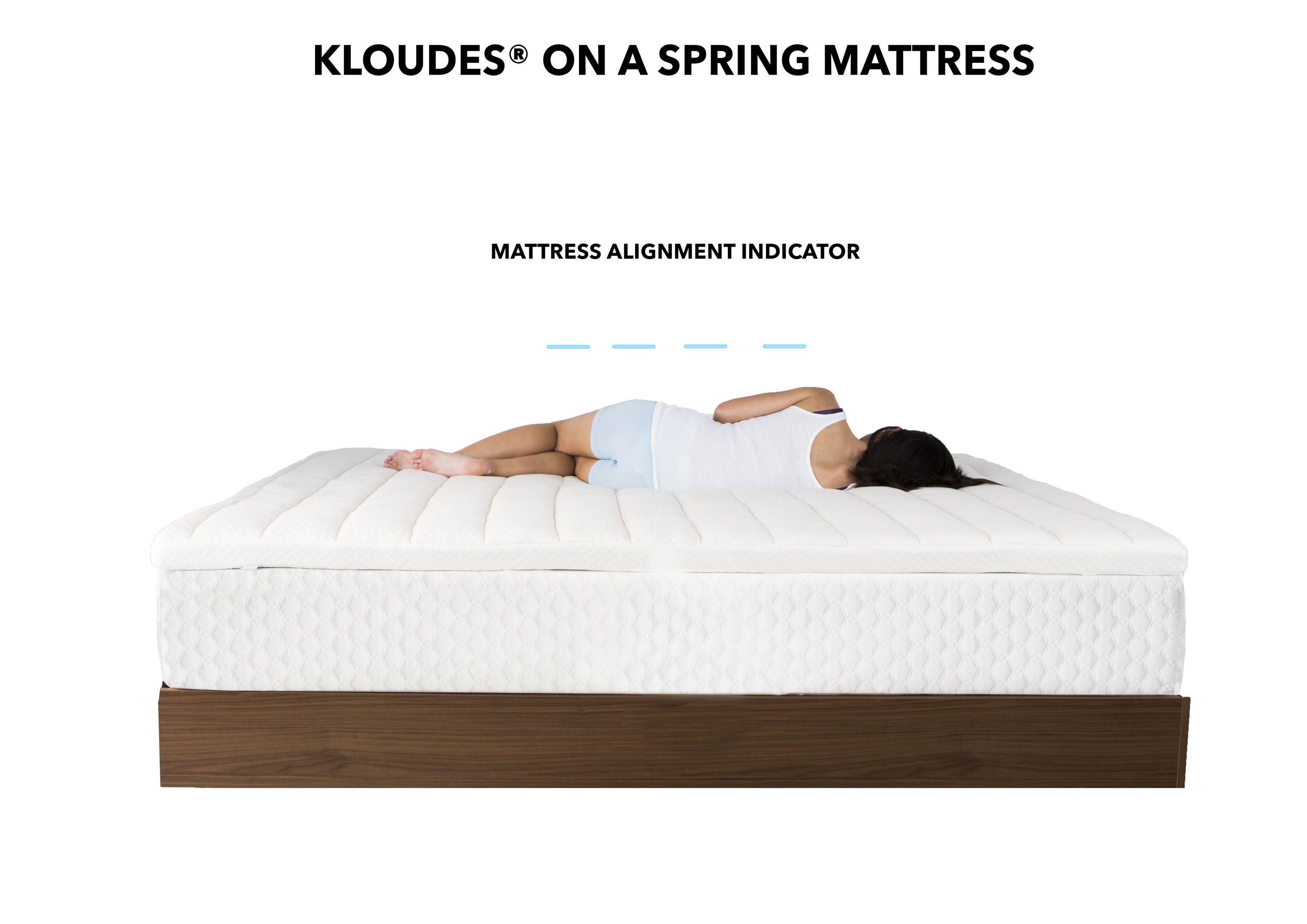 Kloudes 174 Best Mattress Topper 2018 With Cool Gel Memory