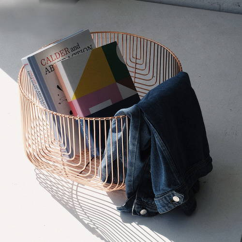 Bend Goods Metal Basket