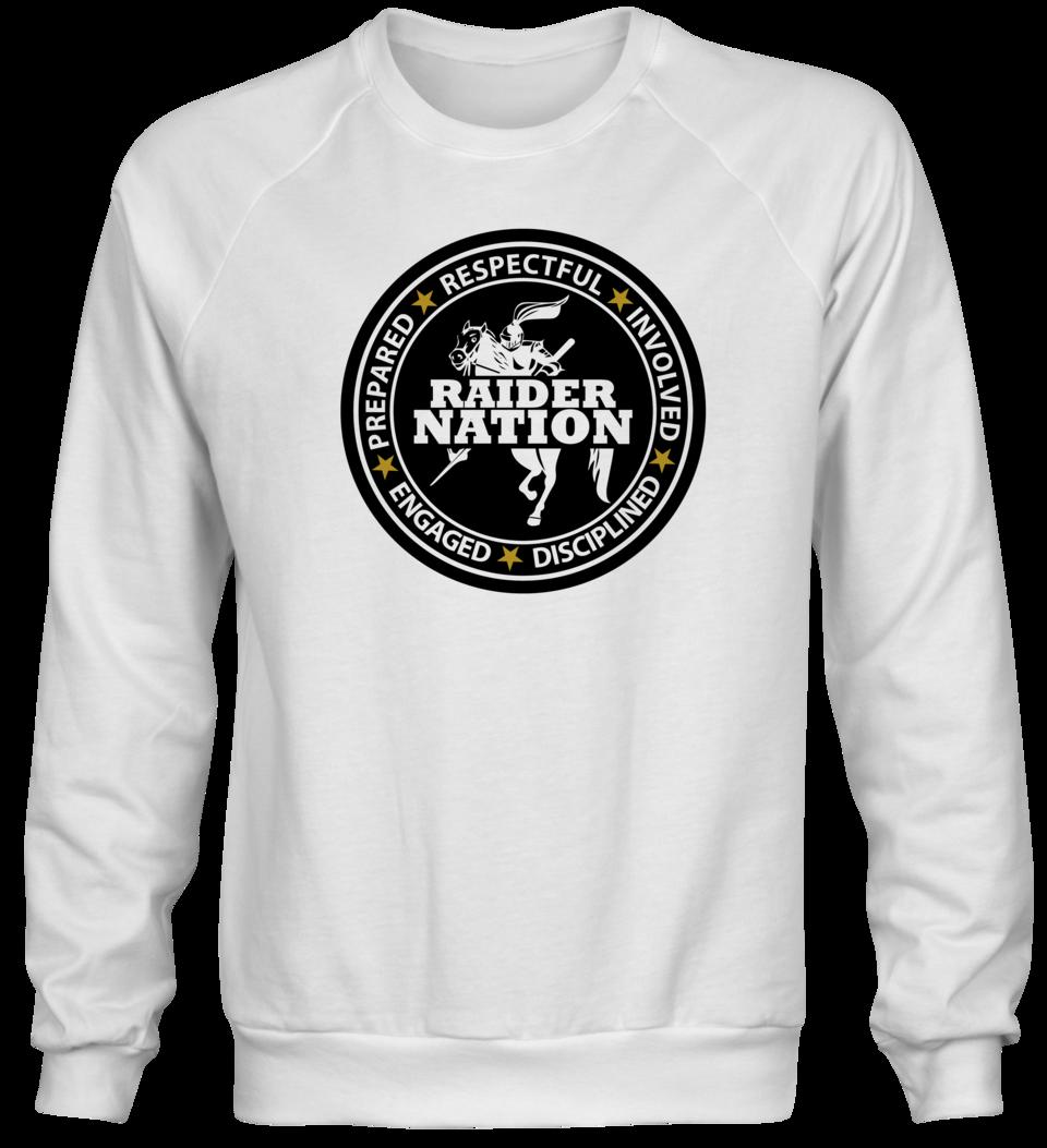 White Mercer Middle School Sweatshirt