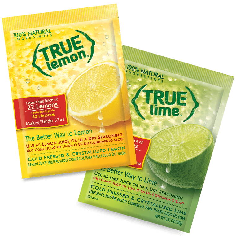 True Lemon True Lime Pouches