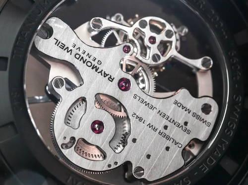 Inside of a Watch Case