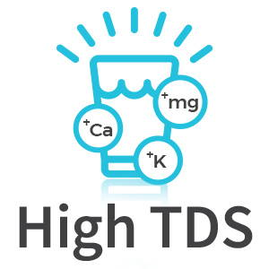 Icon showing the benefits of high TDS water