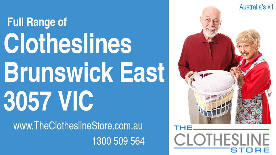 New Clotheslines in Brunswick East Victoria 3057