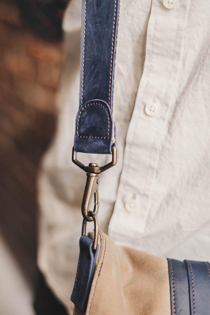 shoulder strap messenger bag for men