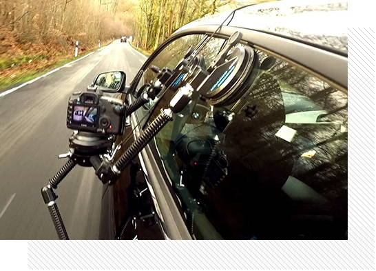 Camtree G-51 Camera Gripper Campod Suction Car Mount