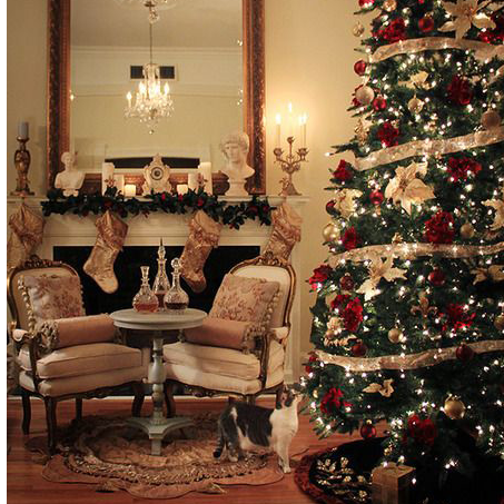 Christmas Home Decor Traditional Christmas Decorating Ideas Lights4fun Co Uk