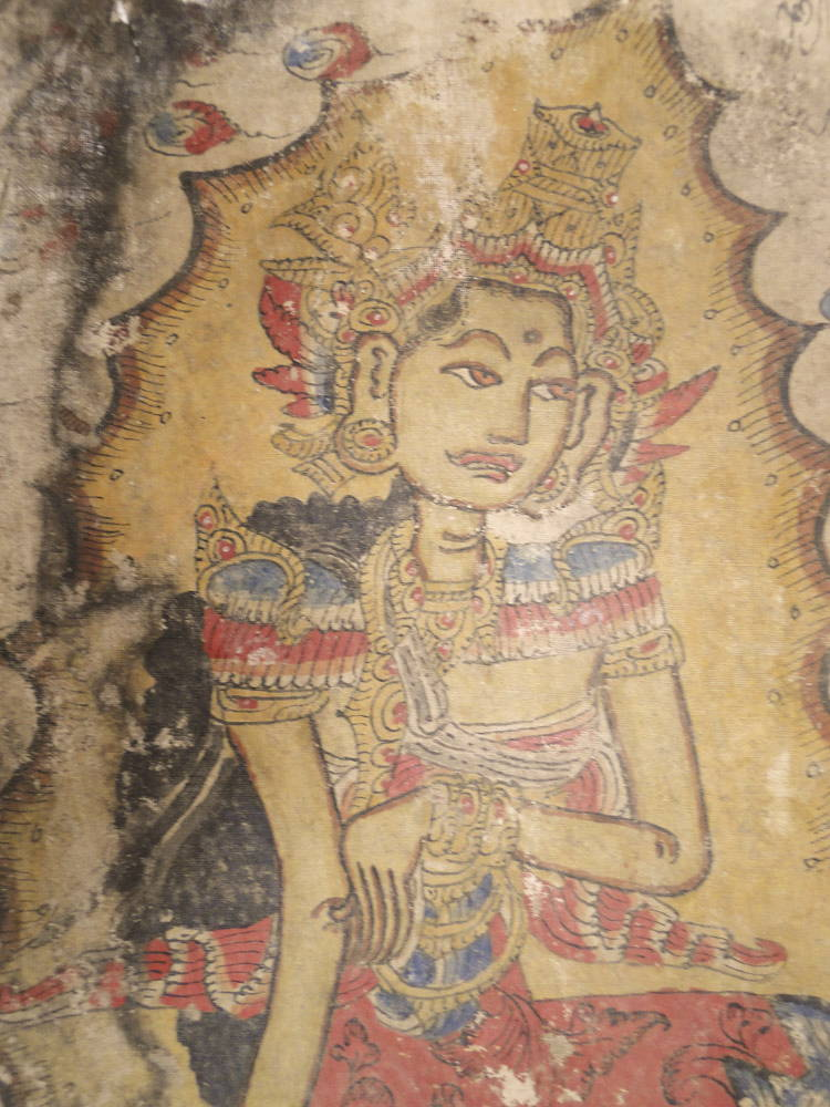 Antique Kamasam Painting Palindon Calendar Balinese Art