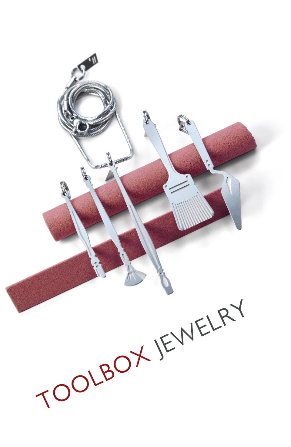 Whitebeam Toolbox jewelry