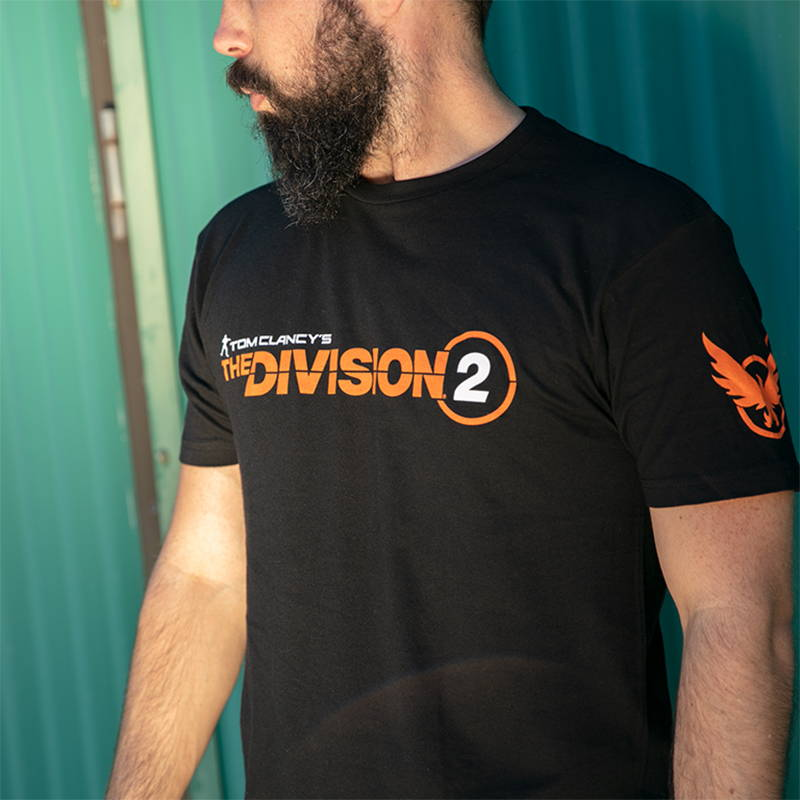 Photo of a model wearing The Division 2 Logo Premium Tee