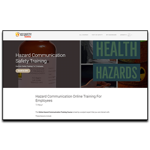 Online Hazard Communication For Employees Training Registration