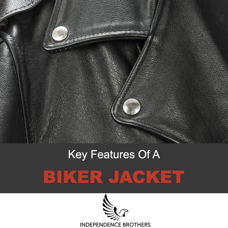 Key features of a biker jacket