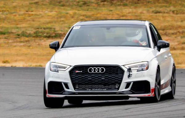Audi with 034 Motorsport Suspension