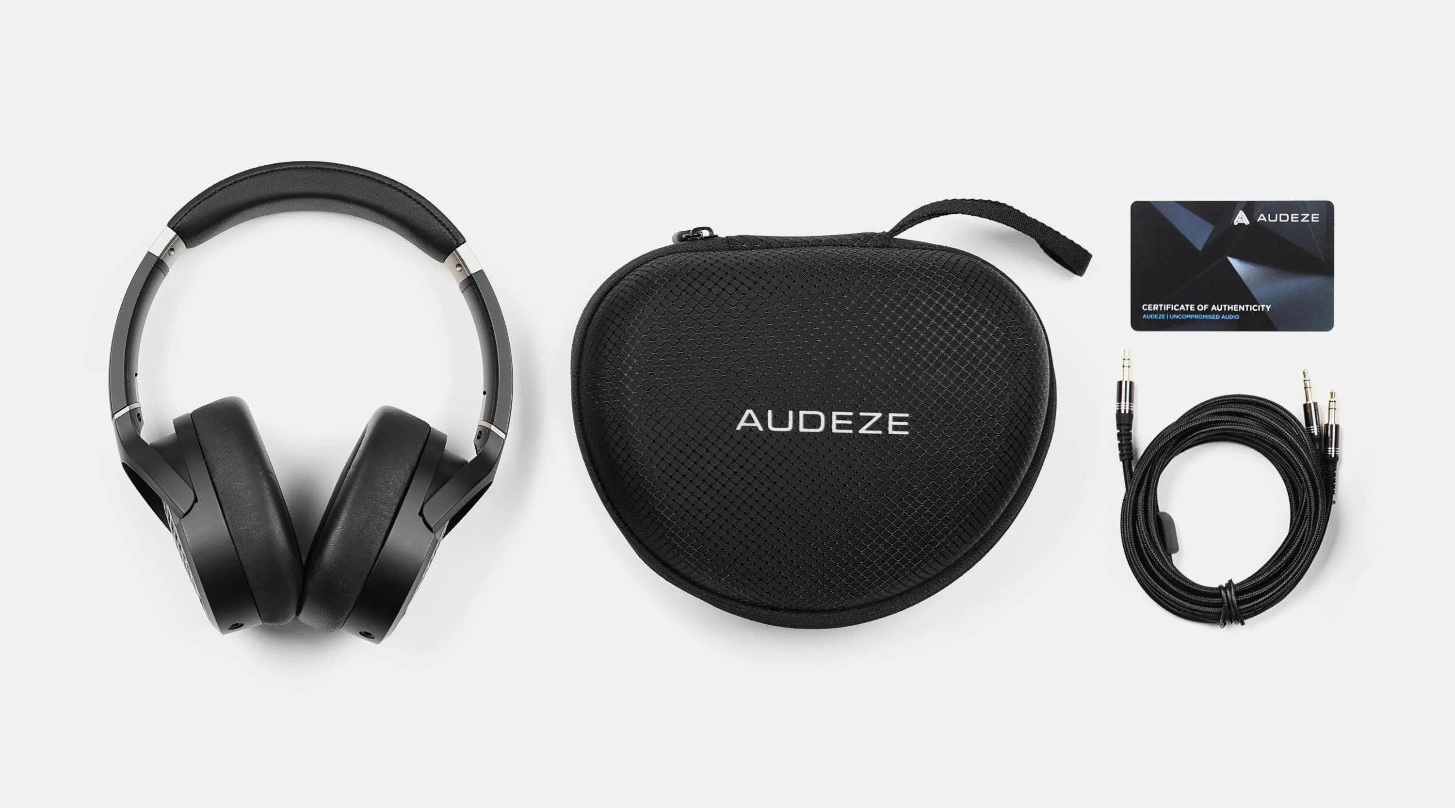 Audeze LCD-1 Planar Magnetic Headphones In The Box