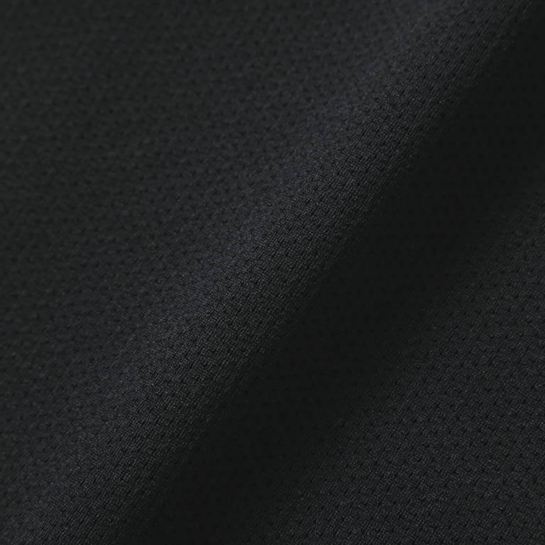 andwander(アンドワンダー)/ハイブリッドベースレイヤー ショートスリーブT/ブラック/UNISEX