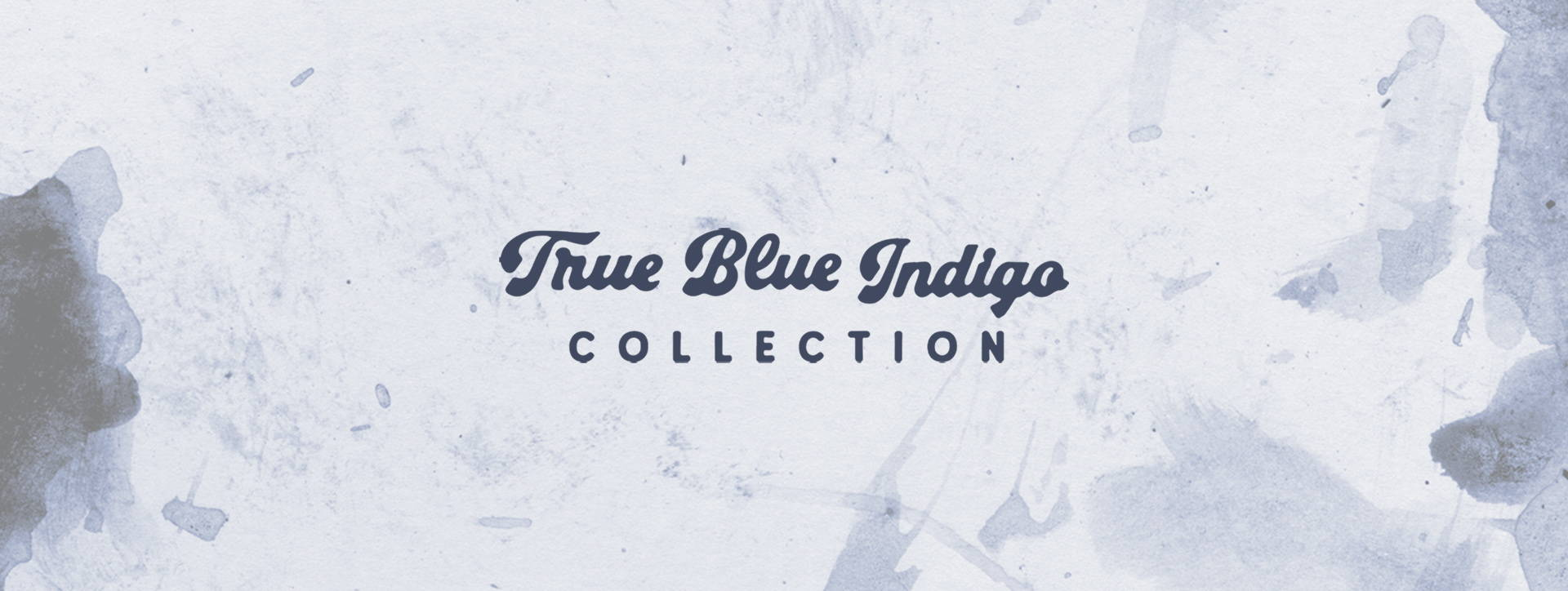 Iron & Resin True Blue Indigo Collection Product Page