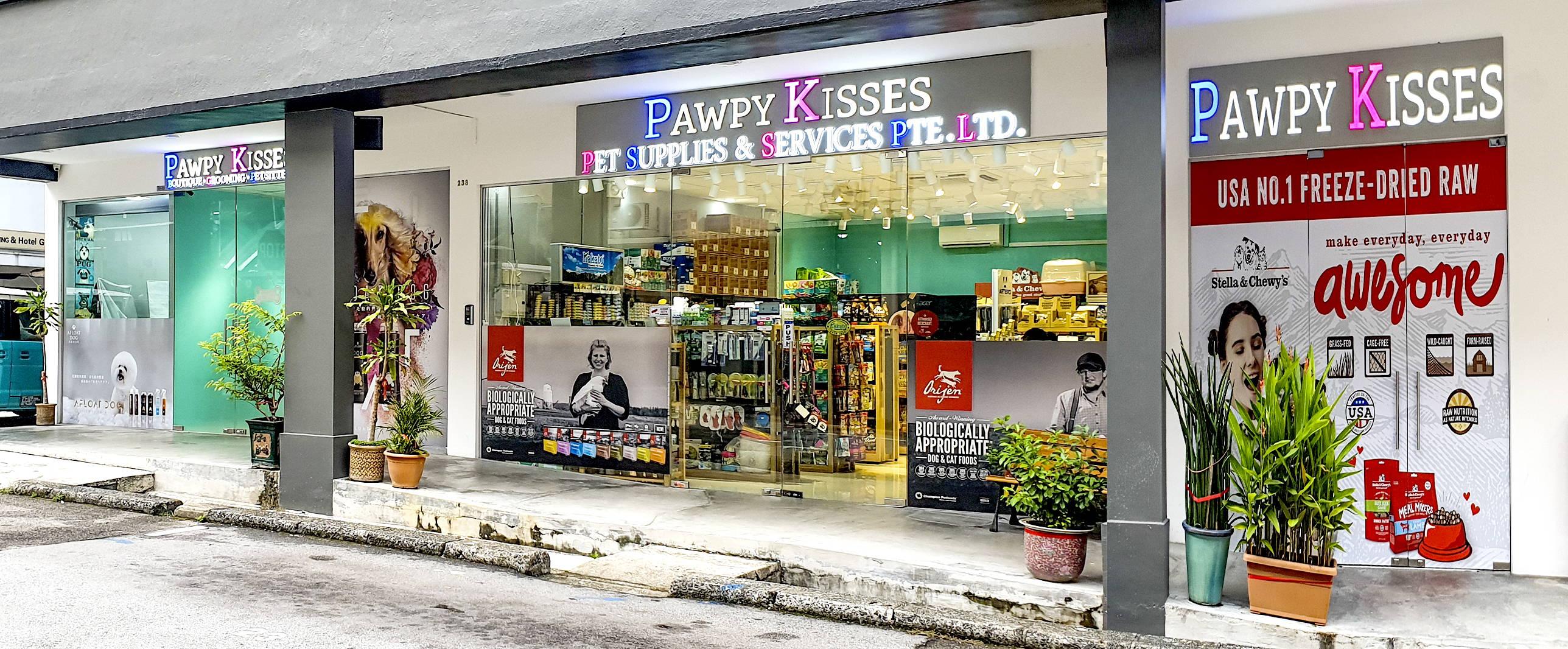 pawpy kisses pet supplies & services exterior photo