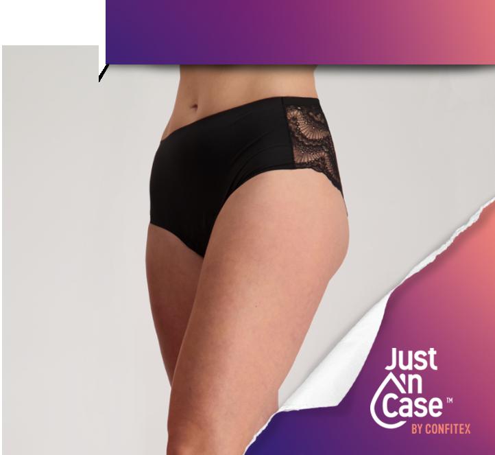 Shop Just'nCase - Pee Panties, Period Underwear and Nursing Pads