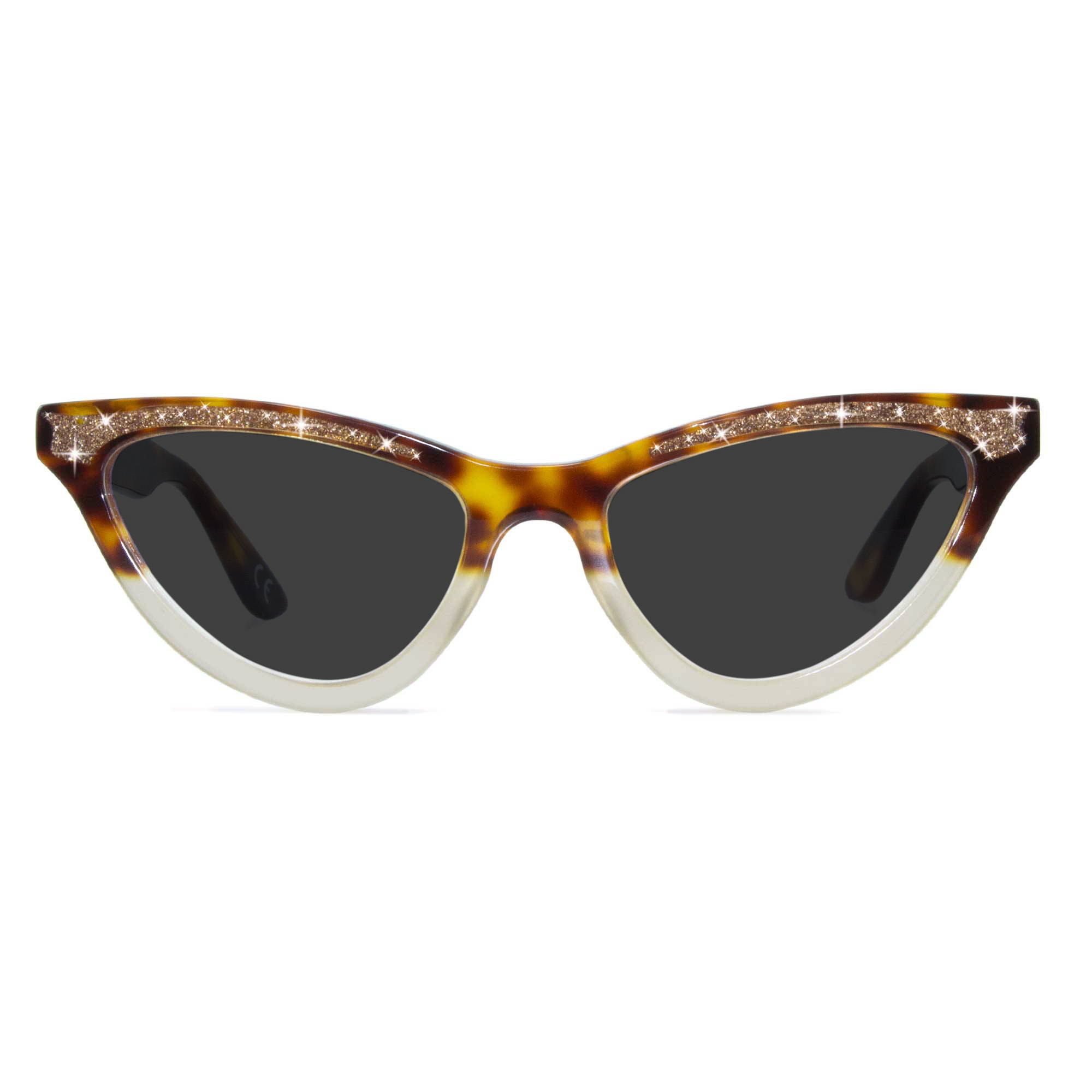 Joiuss maryloo tortoiseshell cat eye sunglasses