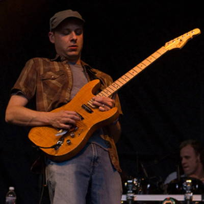 Jake Cinninger of Umphrey's McGee recycled guitar string bracelets and jewelry