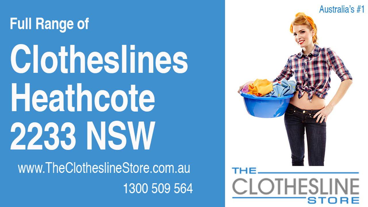 Clotheslines Heathcote 2233 NSW