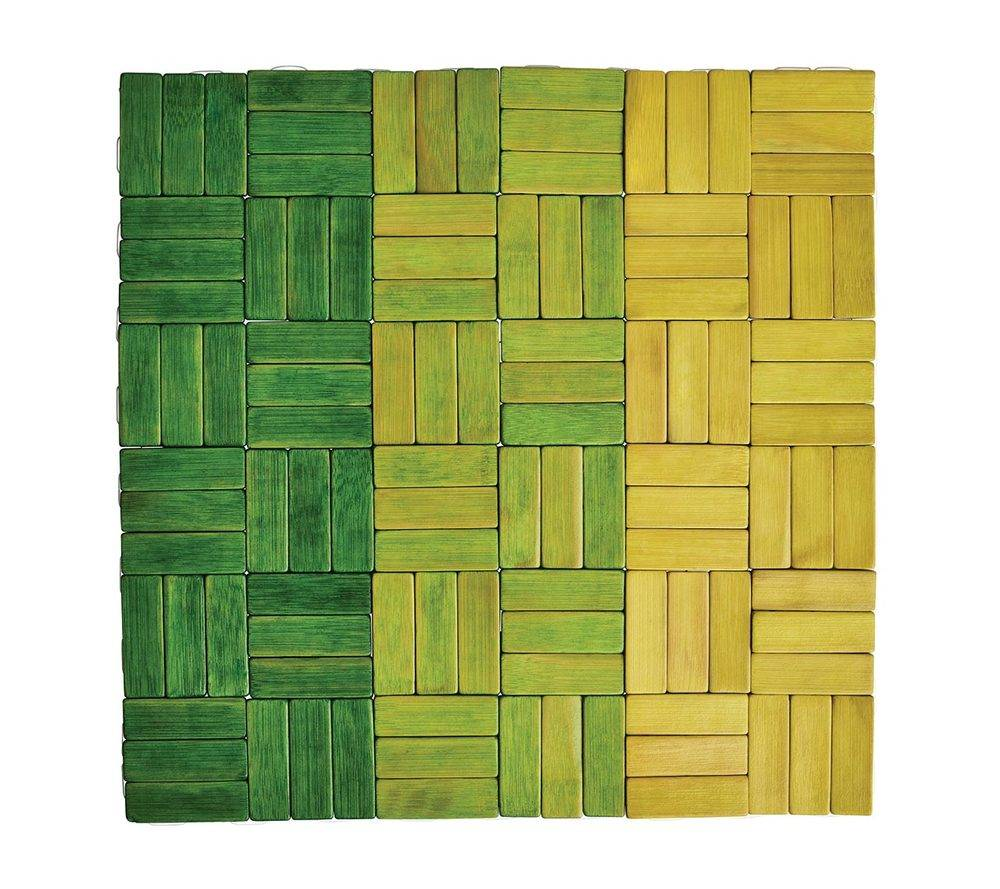 JENGAA PLACEMAT IN GREEN
