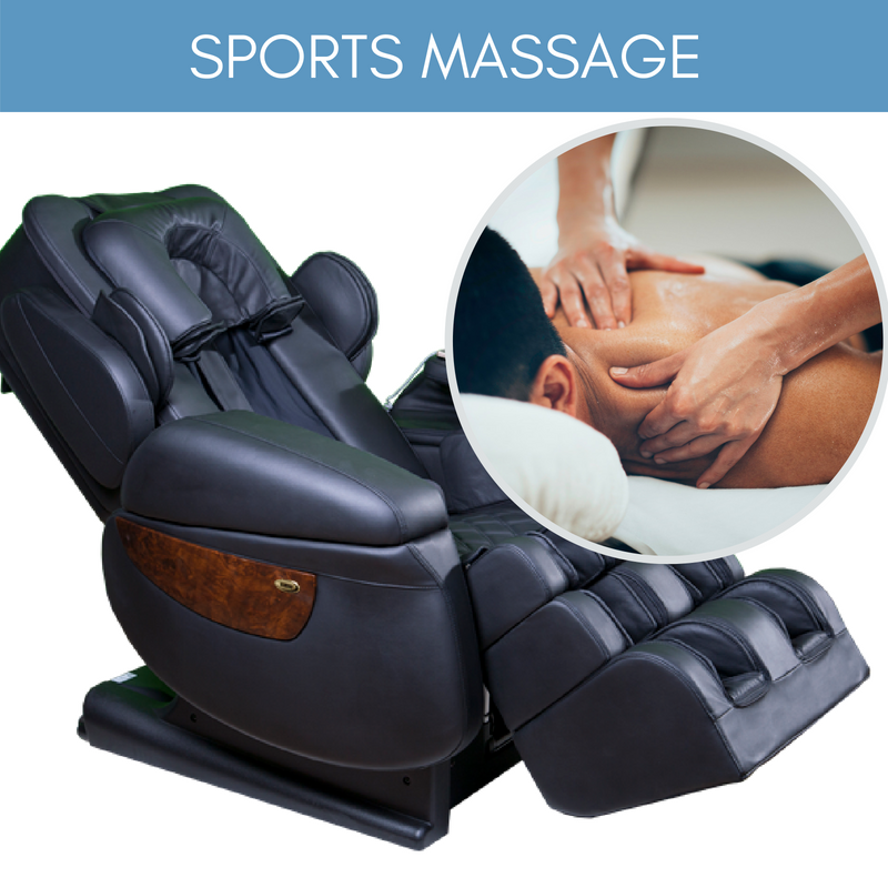 Massage Chairs Giving Deep Tissue & Trigger Point