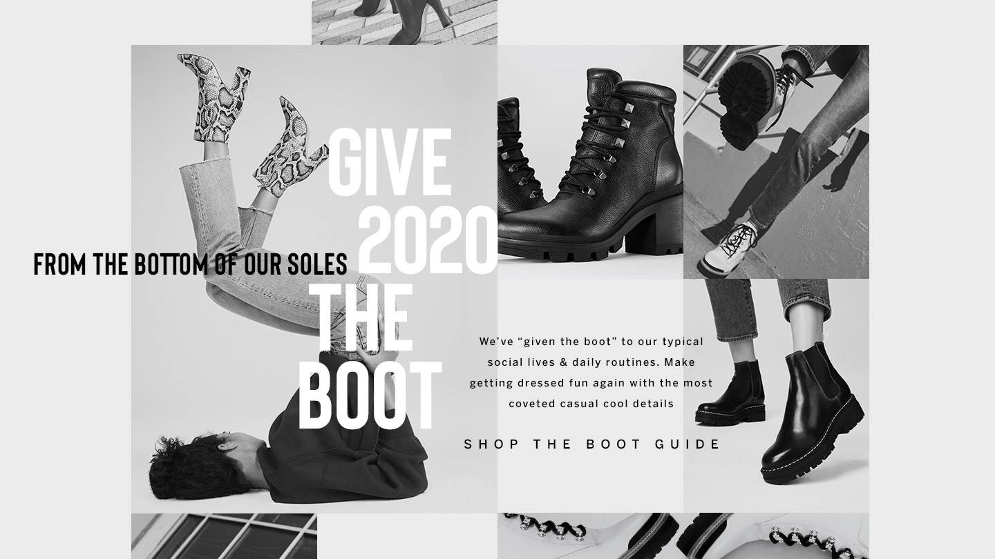 Give 2020 the Boot