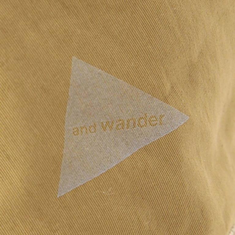 andwander(アンドワンダー)/60/40クロスハット/グレー/UNISEX