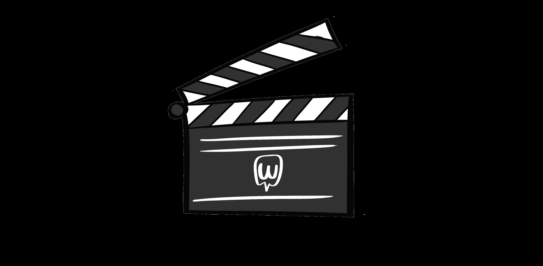 illustrated movie board