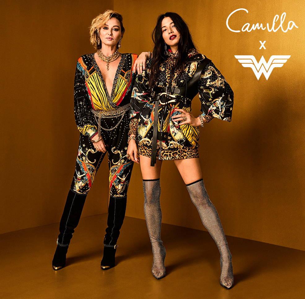 CAMILLA x Wonder Woman Capsule Collection, Camilla Franks