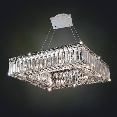 Allegri Lighting Crystal Pendants, Chandeliers, Wall Sconces, & Ceiling Lights - Quadro Collection