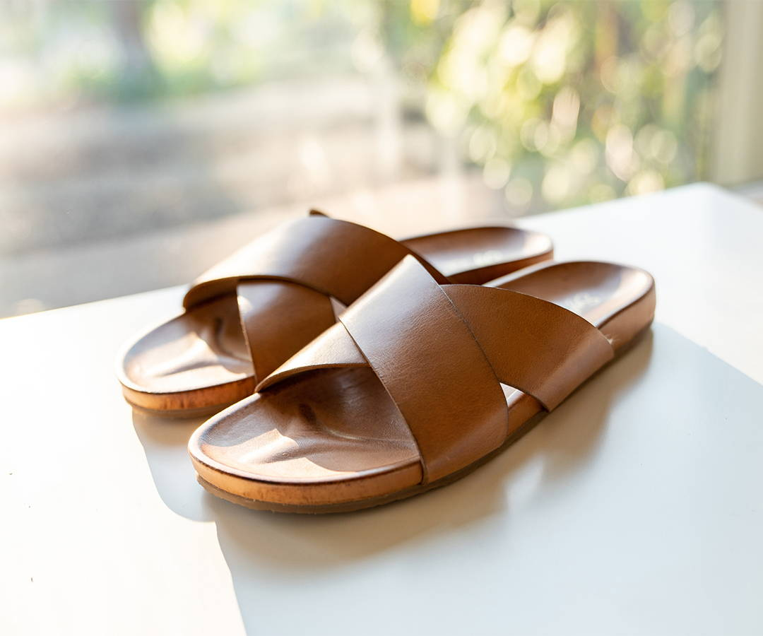 Lighthearted Slide Sandals