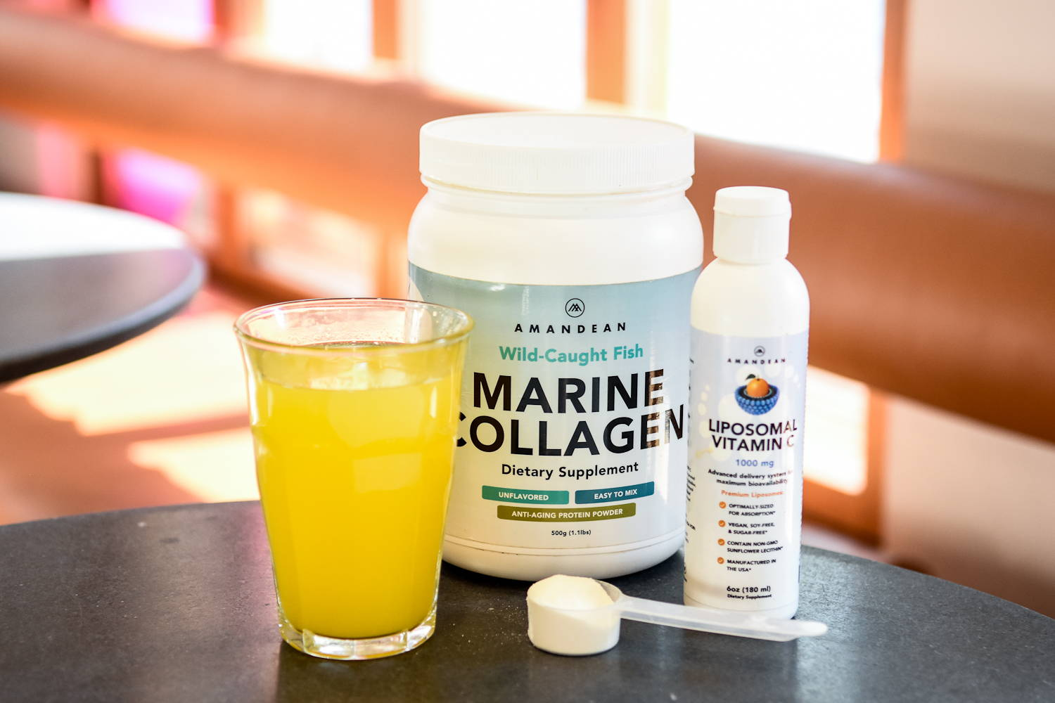 Liposomal Vitamin C Marine Collagen