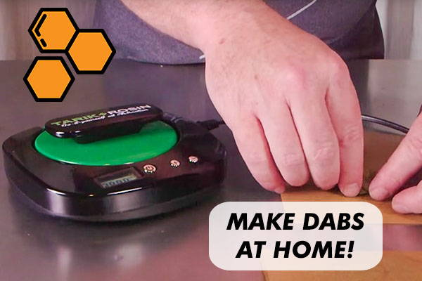 How To Make Dabs with Rosin Press