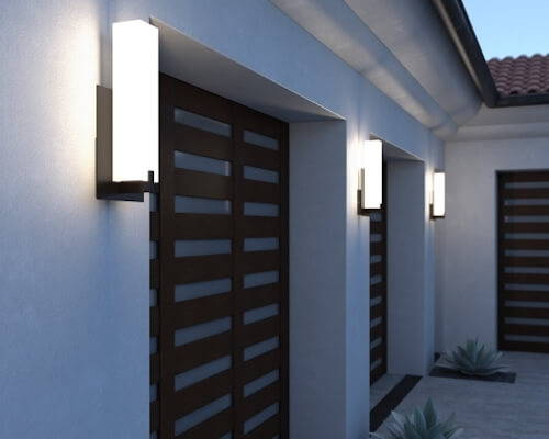 Tech Lighting Cosmo Outdoor Wall Light