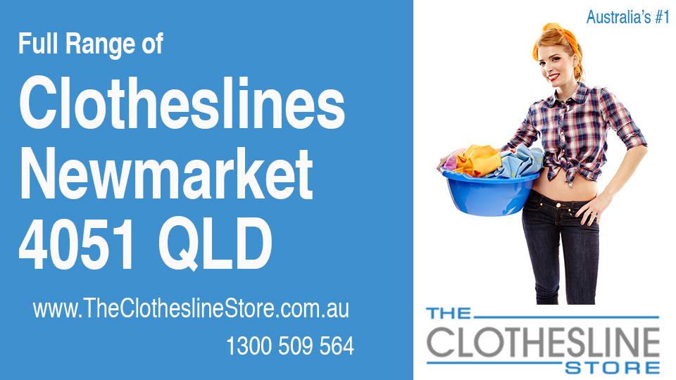 New Clotheslines in Newmarket Queensland 4051