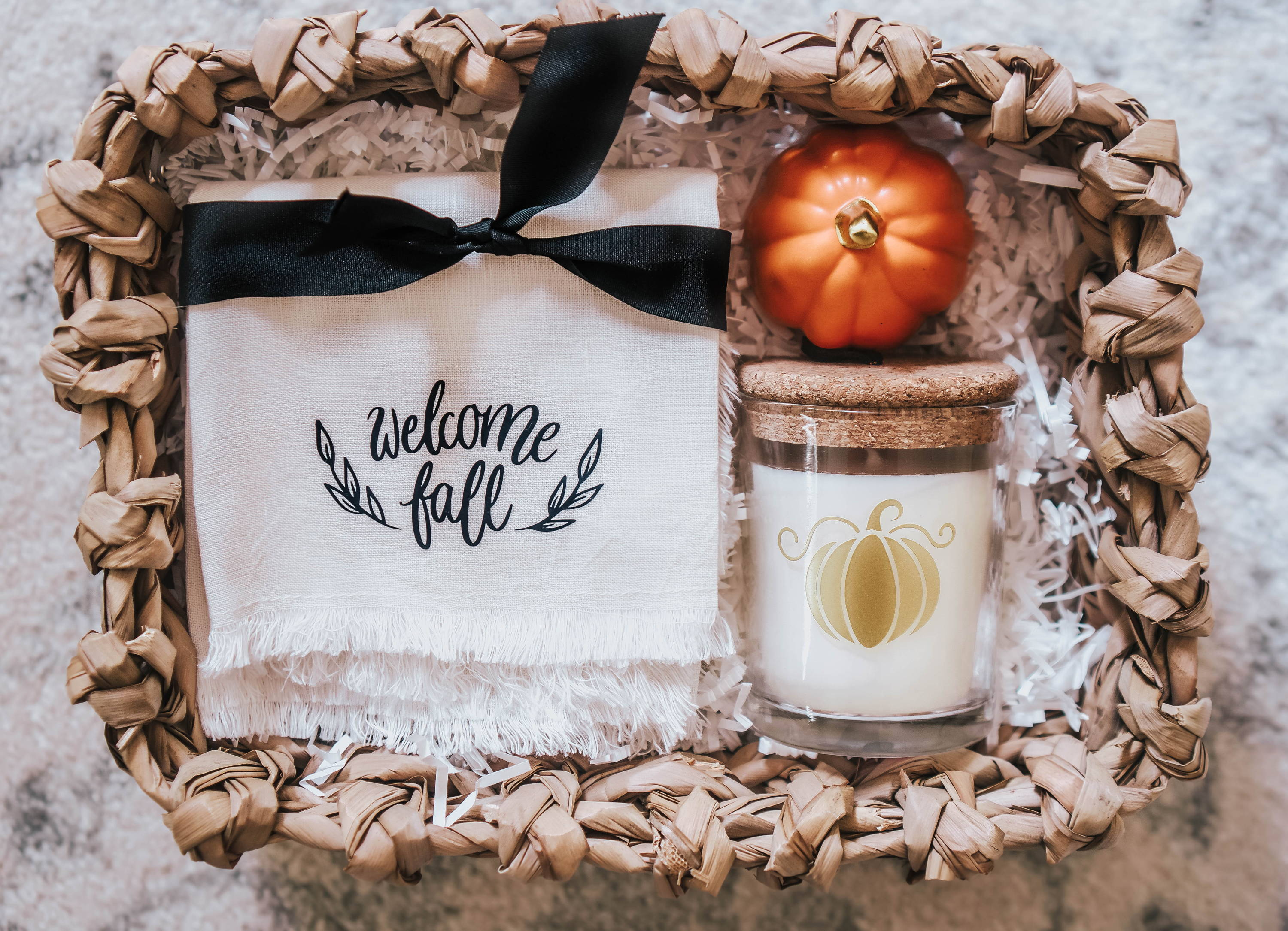 Craftables fall gift basket