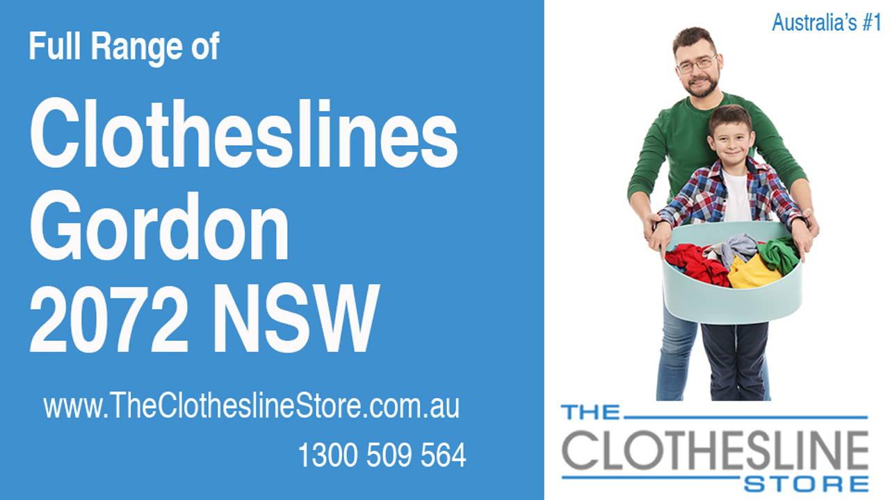 Clotheslines Gordon 2072 NSW