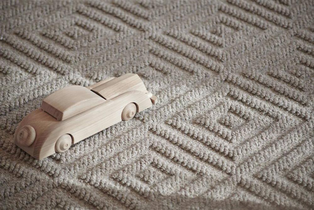 Teppiche aus natürlichen Materialien