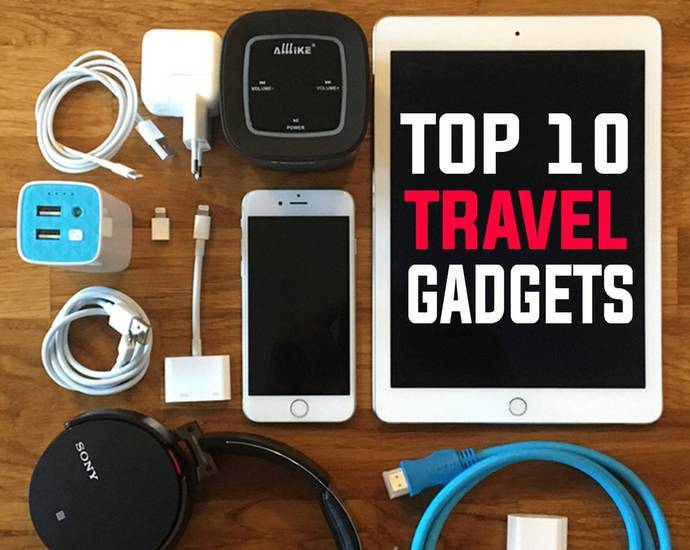 Travel Gadgets useful travel accessories