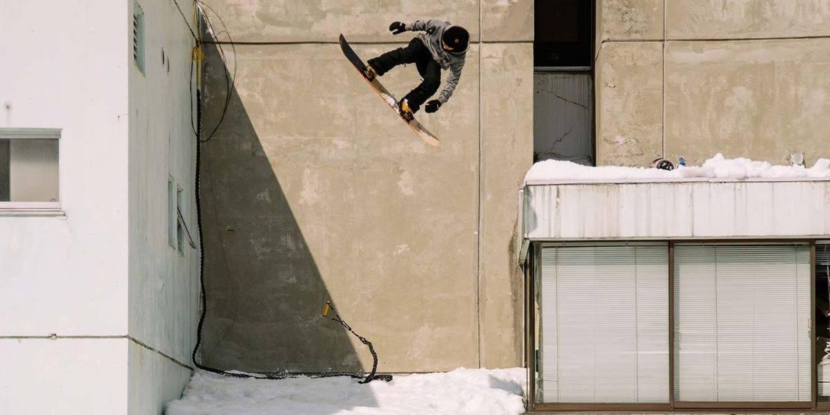 Atsushi Hasegawa Snowboarding