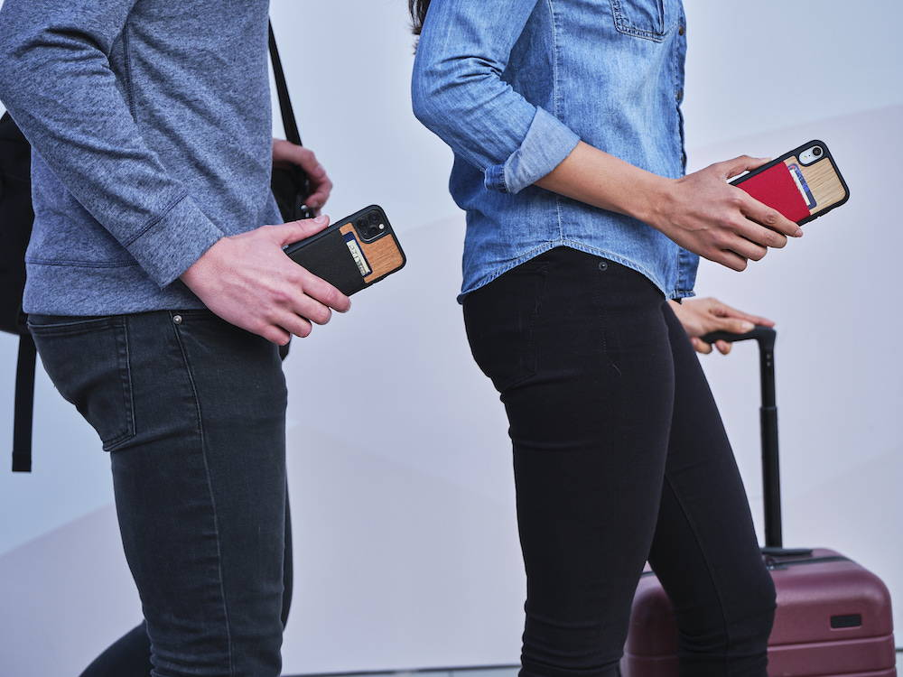 iPhone 11 Wallet Case Card Holder Through Airport Faster