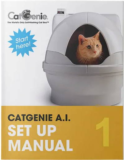 CatGenie A.I. Set Up Manual